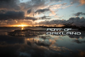 port of Oakland time lapse frame